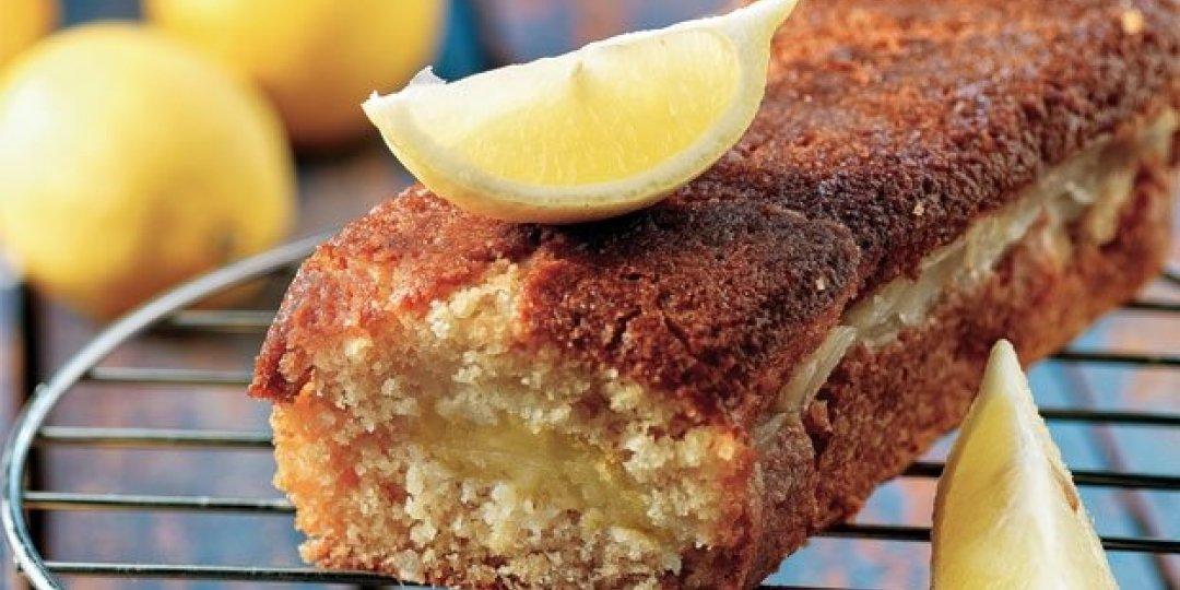 Φανταστικό κέικ λεμονιού με κρέμα λεμόνι - Images