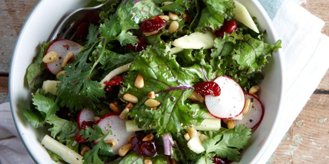 Δροσερή σαλάτα με κέιλ  - Images