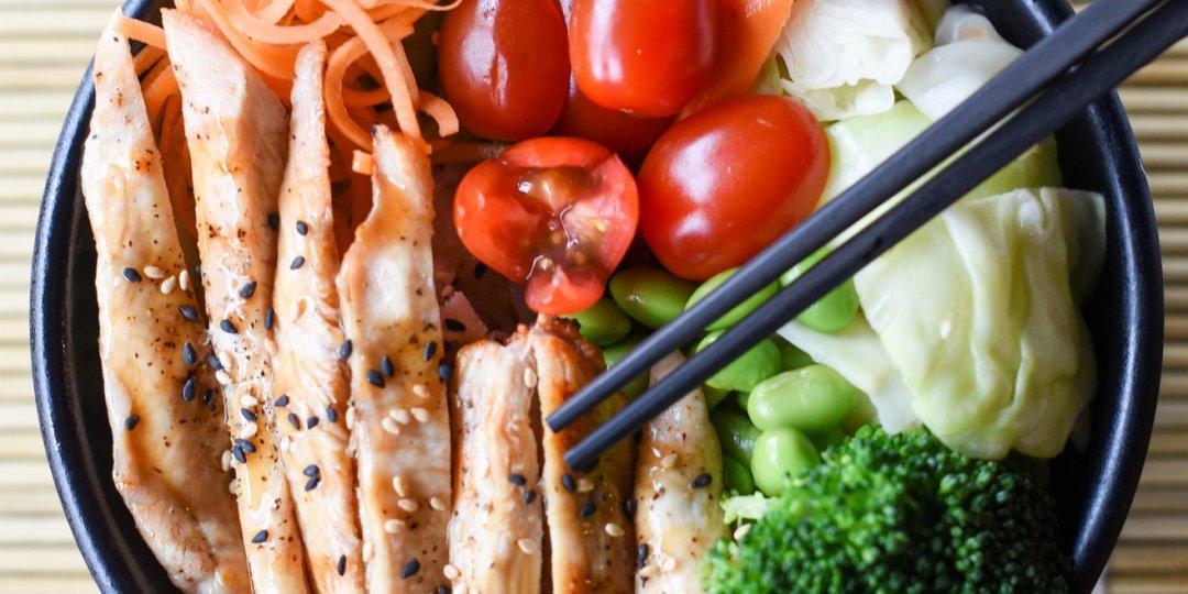 Κοτόπουλο Foodsaver teriyaki με σπαράγγια Ardo - Images