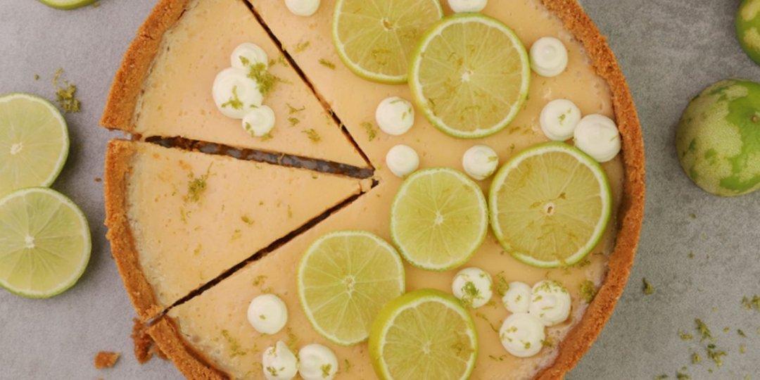 Δροσιστική τάρτα lime - Images