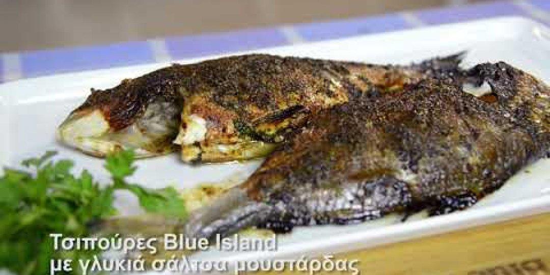 Τσιπούρες Blue Island με γλυκιά σάλτσα μουστάρδας (video) - Κεντρική Εικόνα