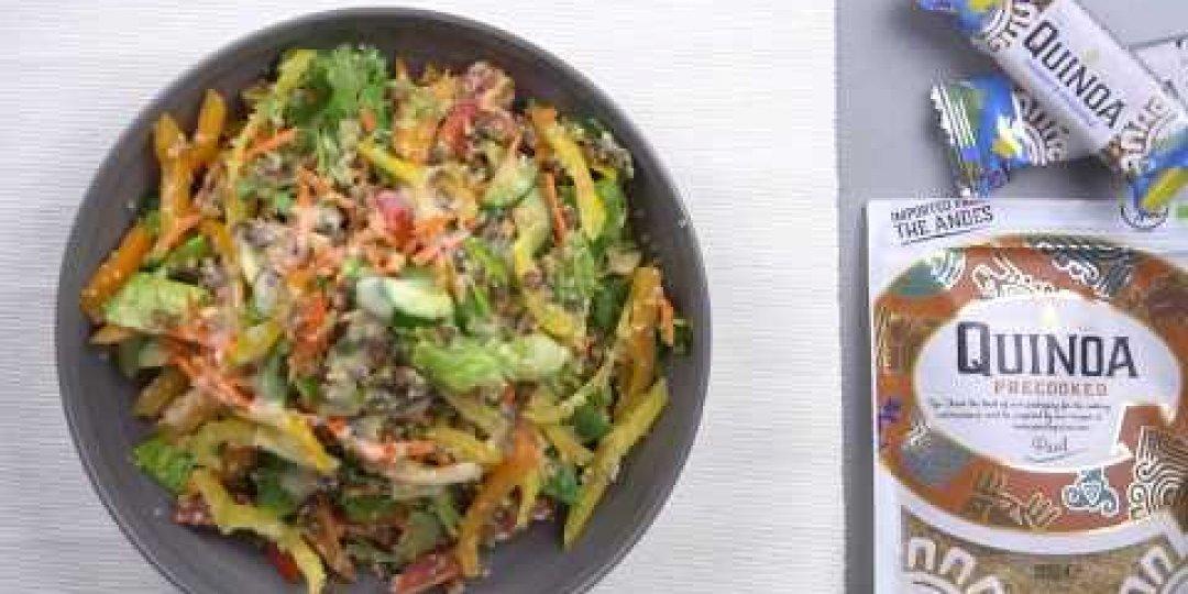 Quinoa and lentils salad - Κεντρική Εικόνα