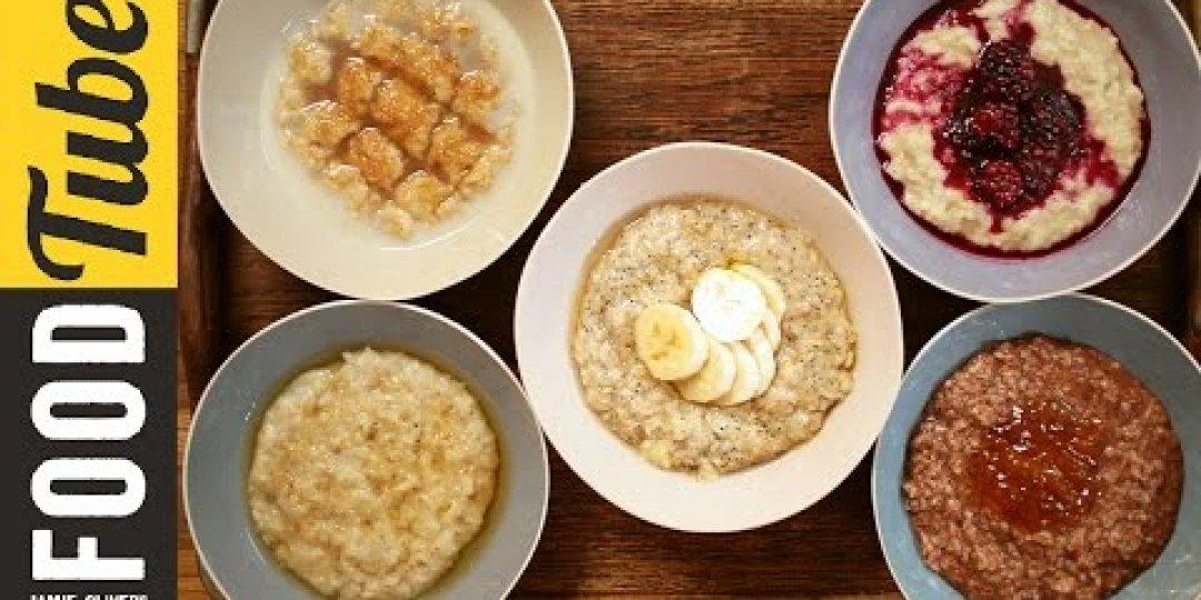 5 ιδέες για τέλειο porridge (video) - Κεντρική Εικόνα