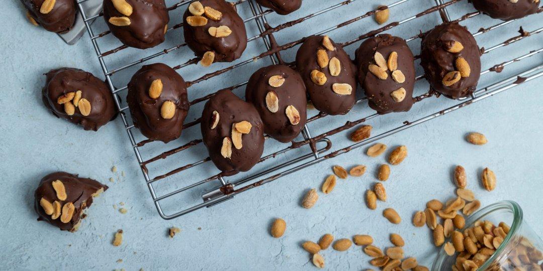Μελομακάρονα με καραμέλα και σοκολάτα - Images