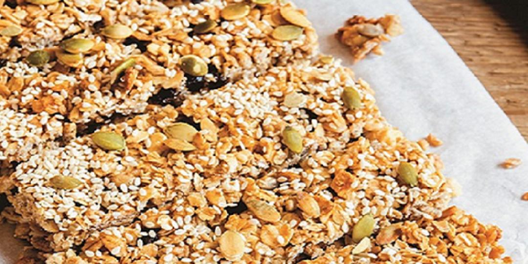 Μπάρες βρώμης Mornflake με σπόρους και φυστικοβούτυρο - Images