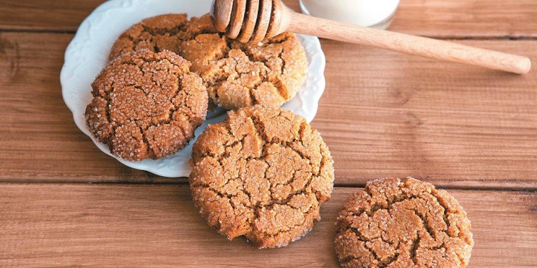 Γιορτινά μπισκότα με βρώμη Mornflake και μέλι - Images