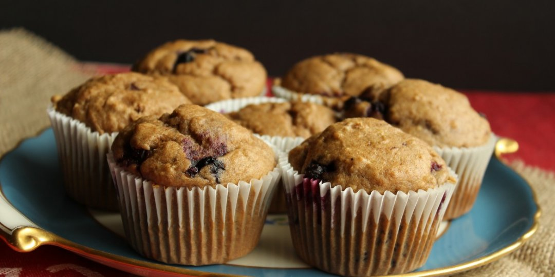 Muffins με μύρτιλα  - Images