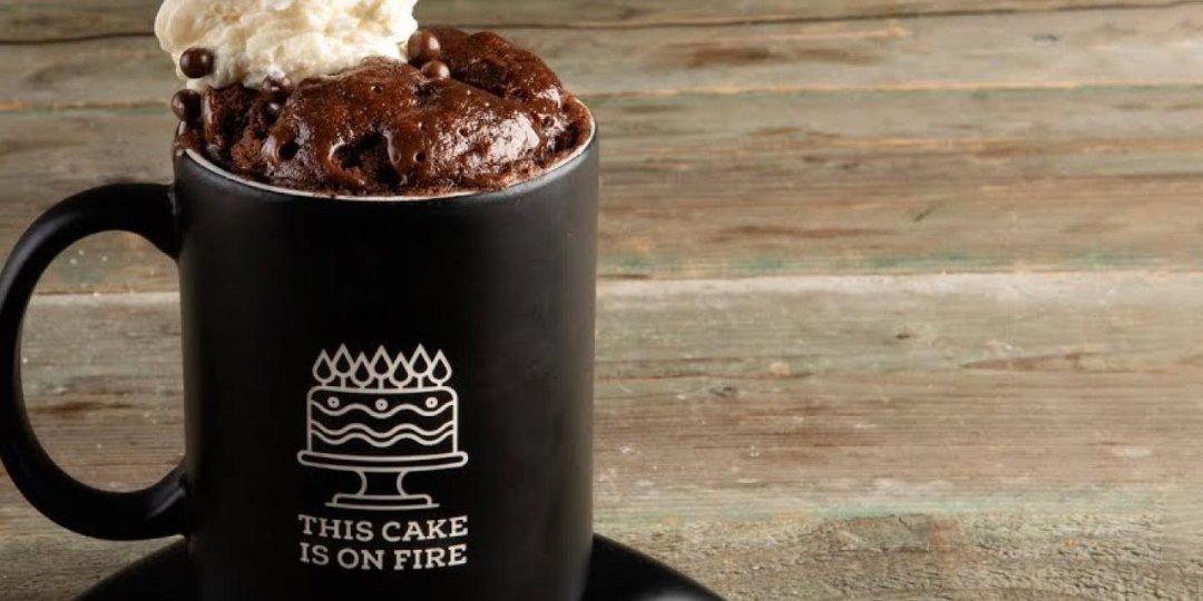 Πανεύκολο cake στο φλιτζάνι με μόνο 3 υλικά - Images