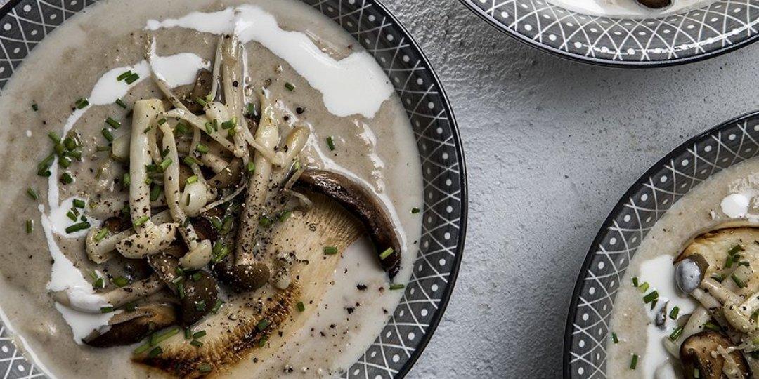 Ιδιαίτερη μανιταρόσουπα με άγρια μανιτάρια - Images