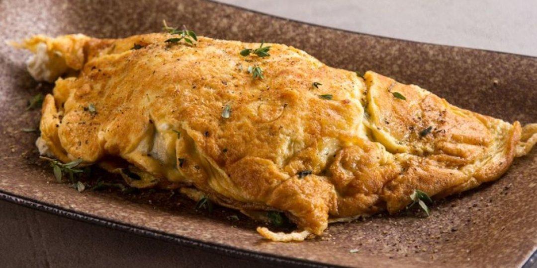 Ομελέτα με σπανάκι και κατσικίσιο τυρί - Images
