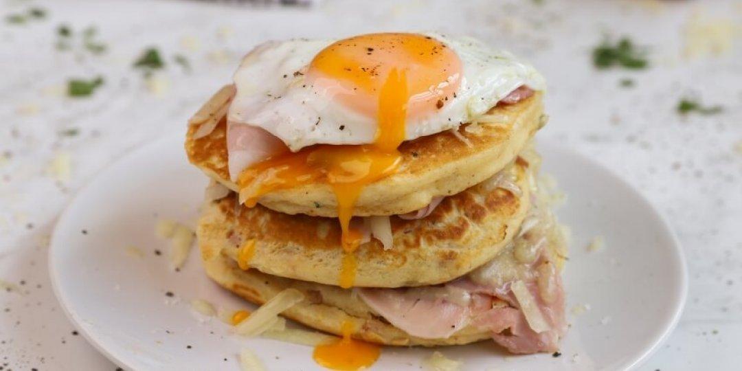 Λαχαριστό brunch με αλμυρά pancakes - Images