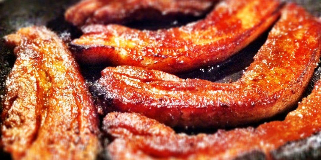 Χοιρινή πανσέτα Foodsaver με σπιτική σάλτσα BBQ - Images