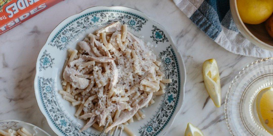Παραδοσιακά Κυπριακά Μακαρόνια με Βραστό Κοτόπουλο και Λεμόνι - Images