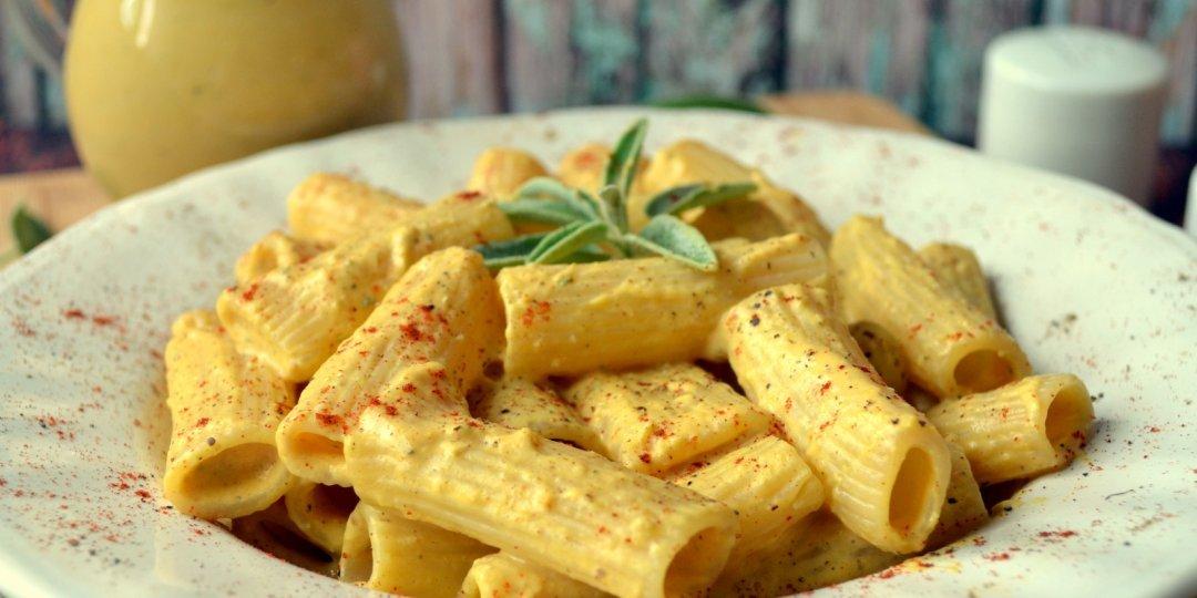 Ριγκατόνι με σάλτσα ψητής κολοκύθας κ φασκόμηλο - Images