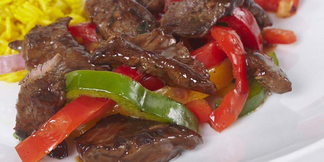 Black Angus Μοσχαρίσιο steak FOODSAVER με λαχανικά - Images