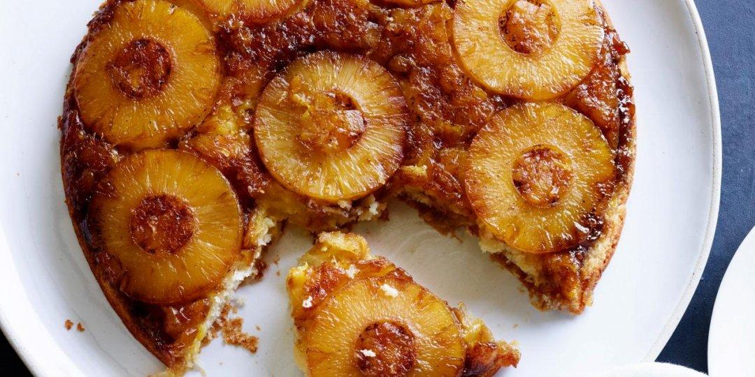Ανάποδο κέικ με ανανά Del Monte  - Images