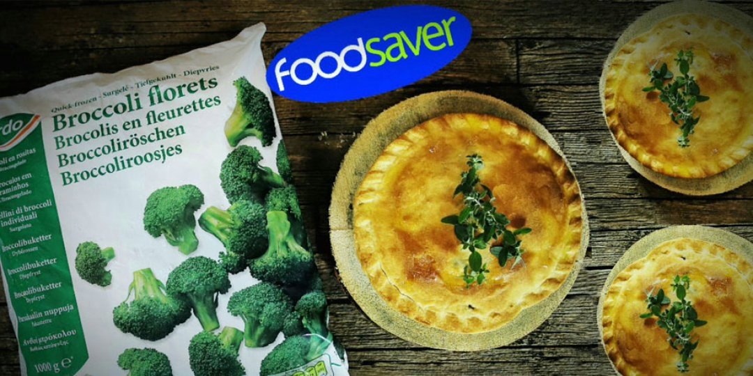 Πίτα με Mπρόκολο και Τυρί Brie απο Foodsaver  - Images