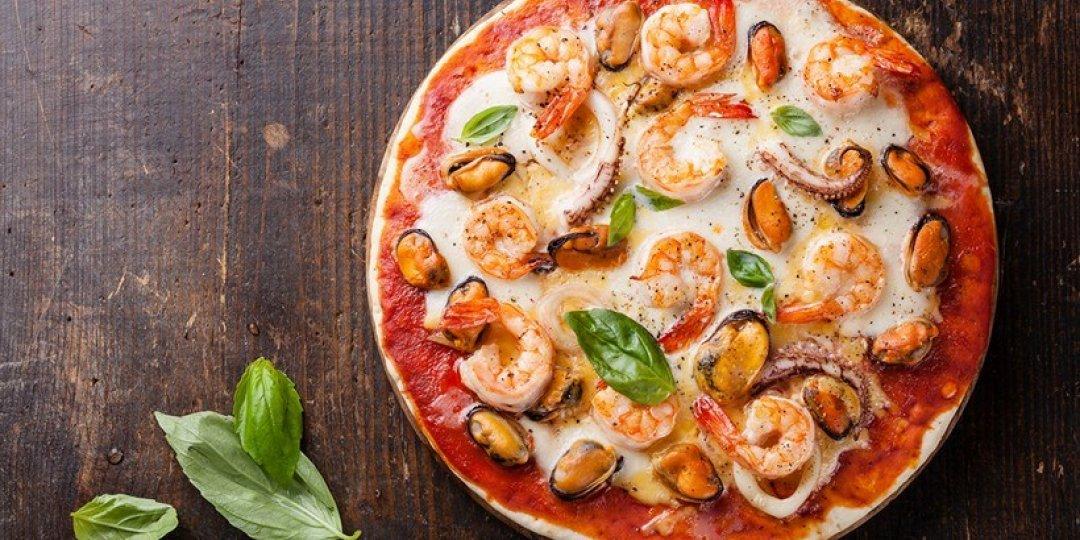 Πίτσα με θαλασσινά Blue Island - Images