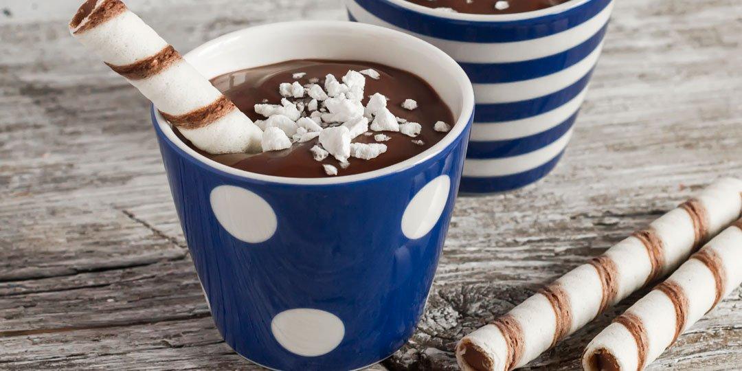 Ονειρεμένη πουτίγκα σοκολάτας  - Images