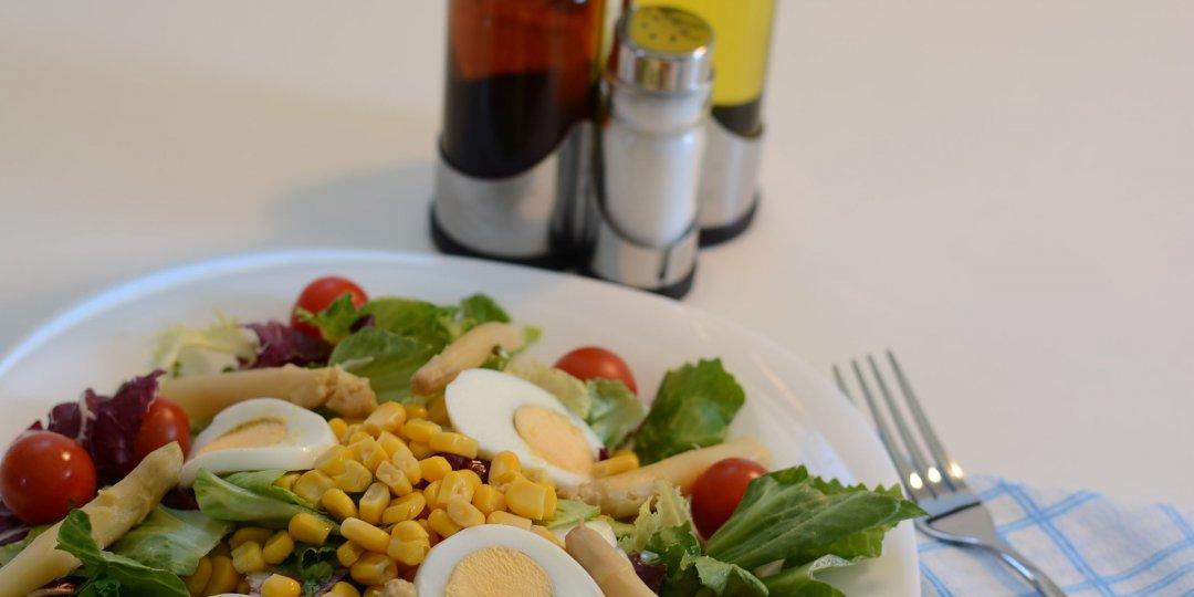 Νόστιμη και υγιεινή αυγοσαλάτα - Κεντρική Εικόνα