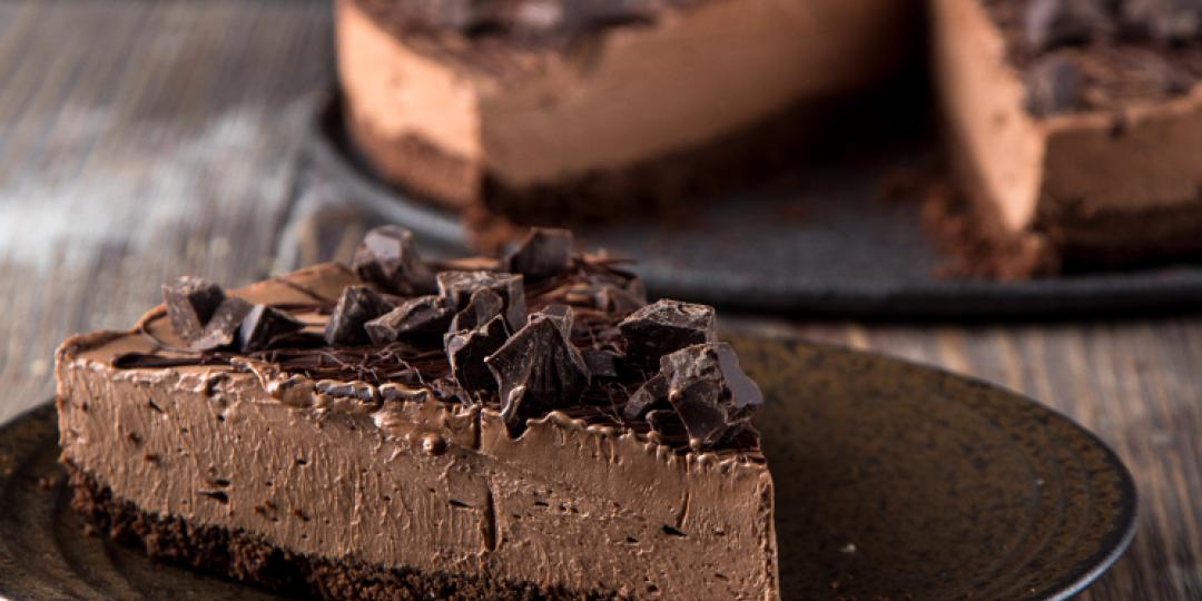 Τσιζκέικ ψυγείου με σοκολάτα - Images