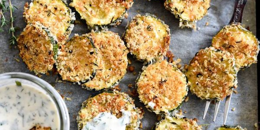 Τσιπς κολοκυθάκια στο φούρνο  - Images