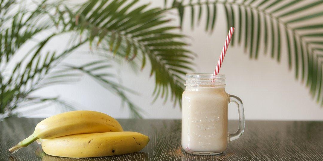 Πρωτεϊνούχο Smoothie μπανάνας - Images