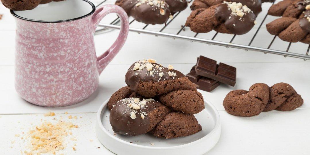 Πασχαλινά κουλουράκια με σοκολάτα - Images