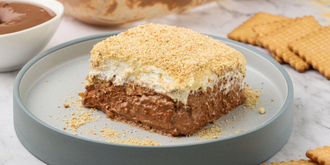 Σοκολατένιο γλυκό με μπισκότα - Images