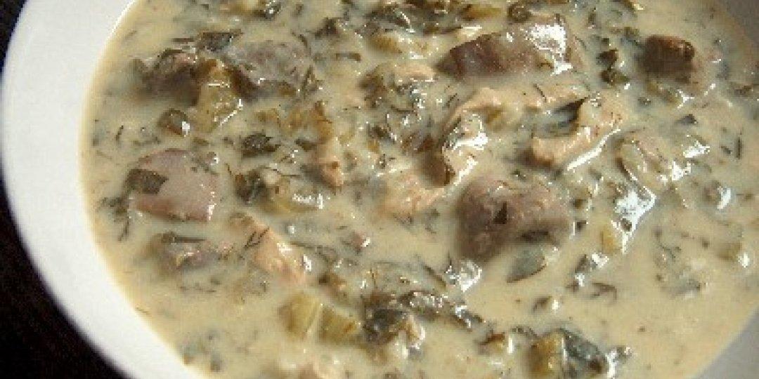 Σούπα με κοτόπουλο και συκωτάκια - Images