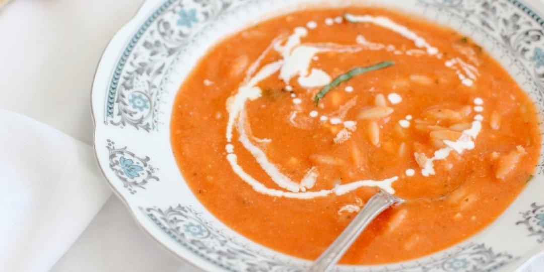Ντοματόσουπα Με Κριθαράκι - Images
