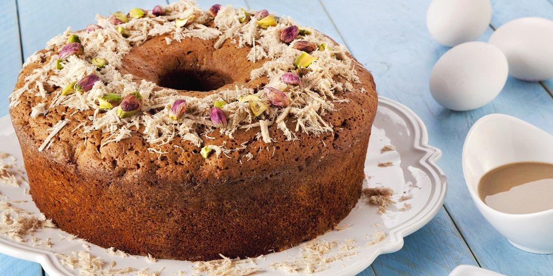 Κέικ με ταχίνι και μέλι  - Images