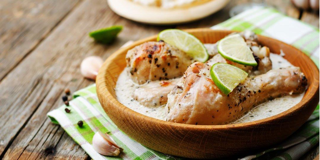 Μπουτάκια κοτόπουλου με σάλτσα ταχίνι  - Images