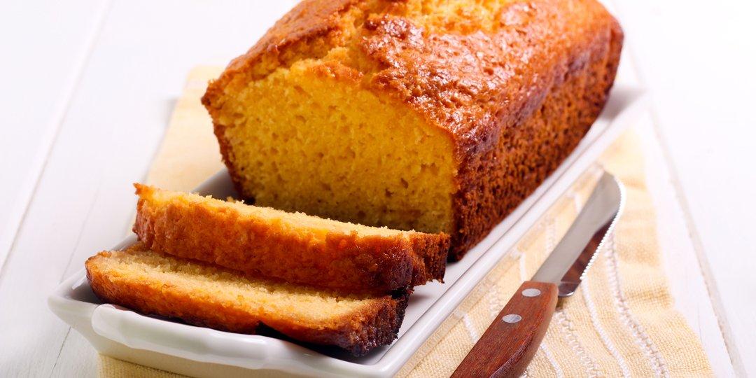 Κέικ με πολέντα και ξινόγαλο  - Images