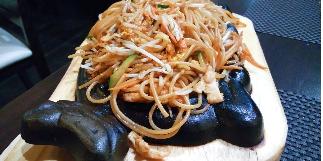 Noodles με μέλι και λαχανικά  - Images