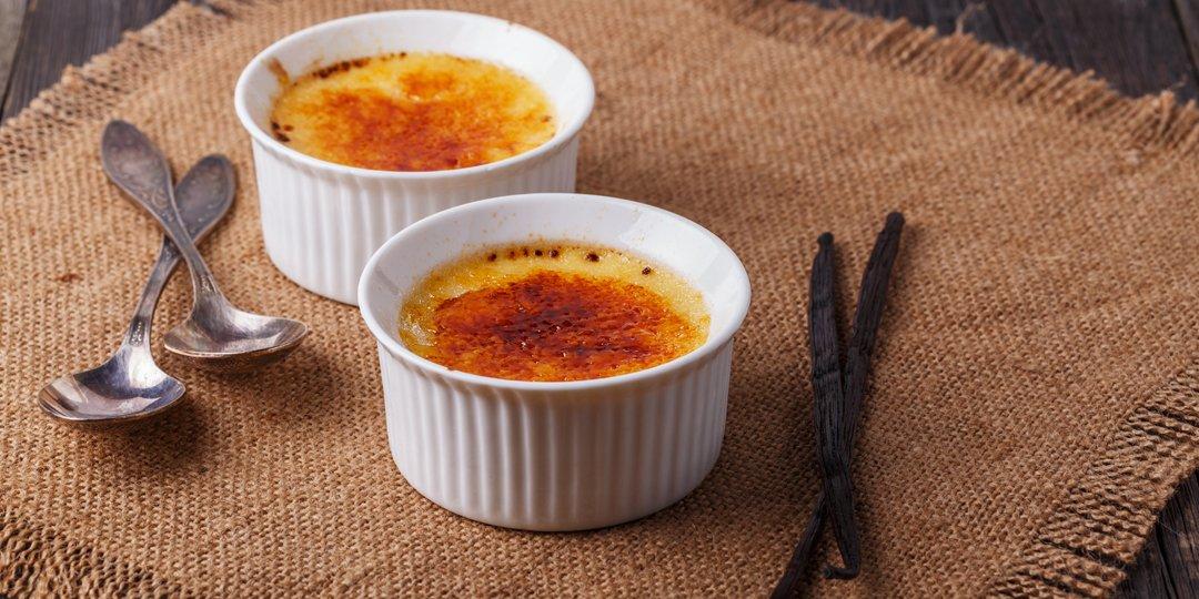 Crème brûlée με βανίλια  - Images