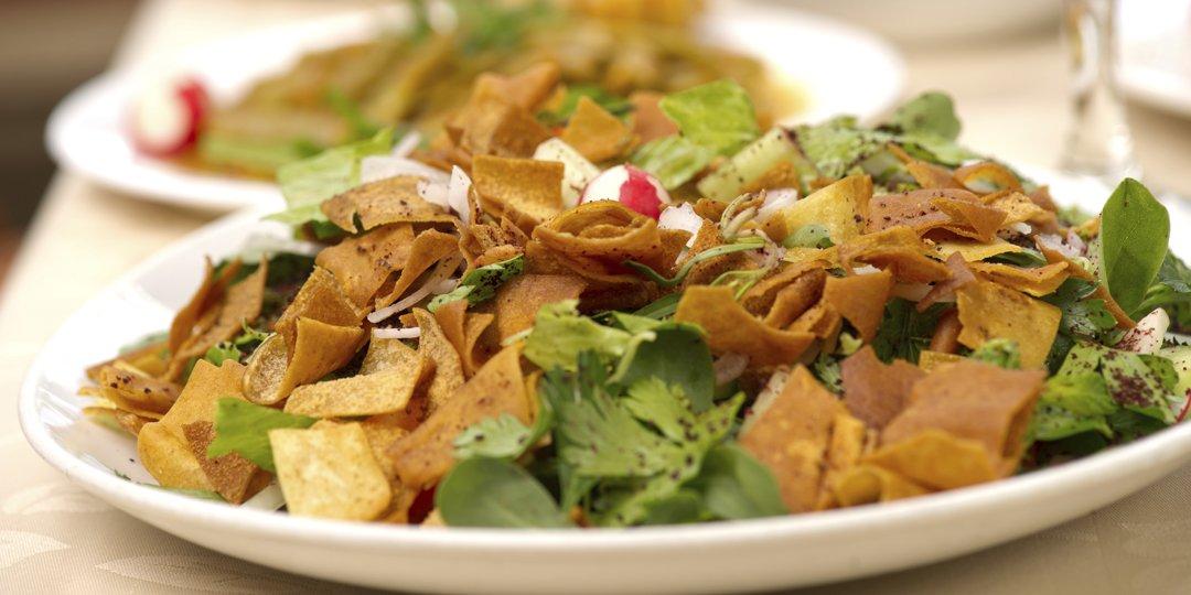 Αραβική σαλάτα Fattoush - Images