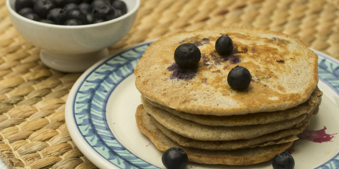 Pancakes με blueberries - Images