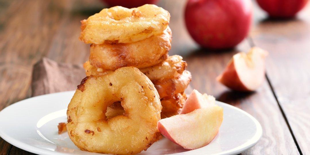 Τηγανιτά μήλα πασπαλισμένα με κανέλα  - Images