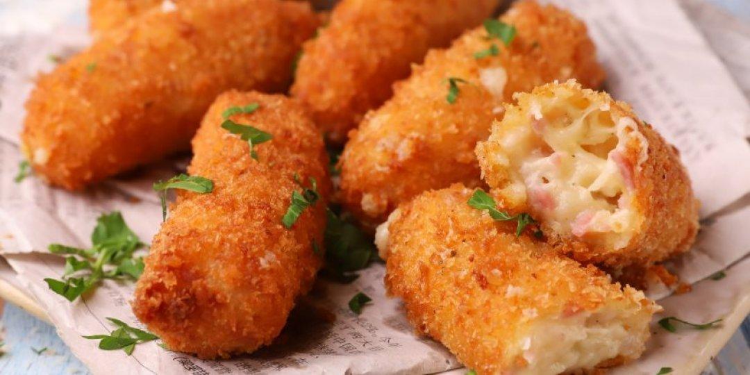 Κροκέτες με ζαμπόν και τυρί - Images