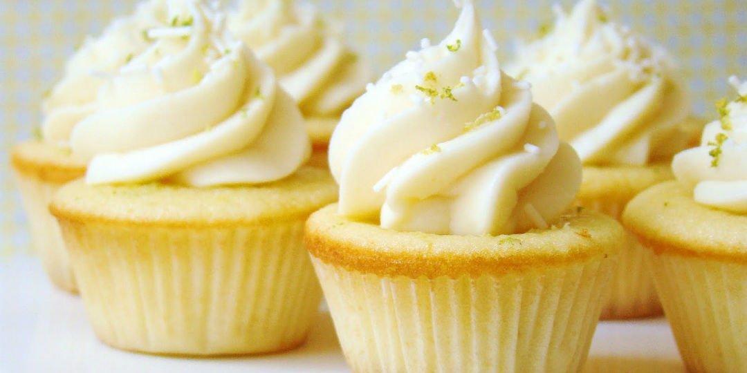 Cupcakes με λάιμ  - Images