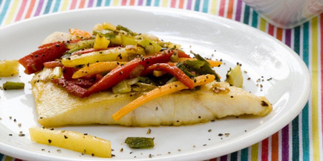 Φιλέτο ψαριού με λαχανικά - Images