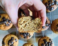 Υγιεινά muffins μπανάνας - Images