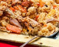 Πιλάφι με κοτόπουλο και καρότα - Images
