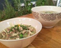 Πικάντικη σούπα με noodles και μοσχαρίσιο κρέας από το Βιετνάμ - Images