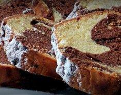 Κέικ βανίλια σοκολάτα μαρμπρέ (κέικ γεωγραφίας) - Images