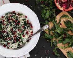 Ρύζι με ρόδι και λευκό κρασί  - Images