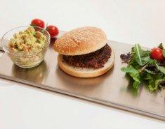 Burgers με κινόα, παντζάρι και κόκκινα φασόλια  - Images