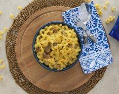 Μακαρόνια με τυριά (Mac and Cheese) και μανιτάρια - Images