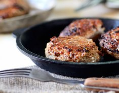 Μπιφτέκια με κρέμα μπαλσάμικου - Images